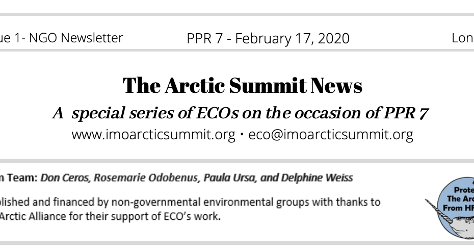 The Arctic Summit News 1