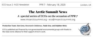 Arctic Summit News 2: How Long?