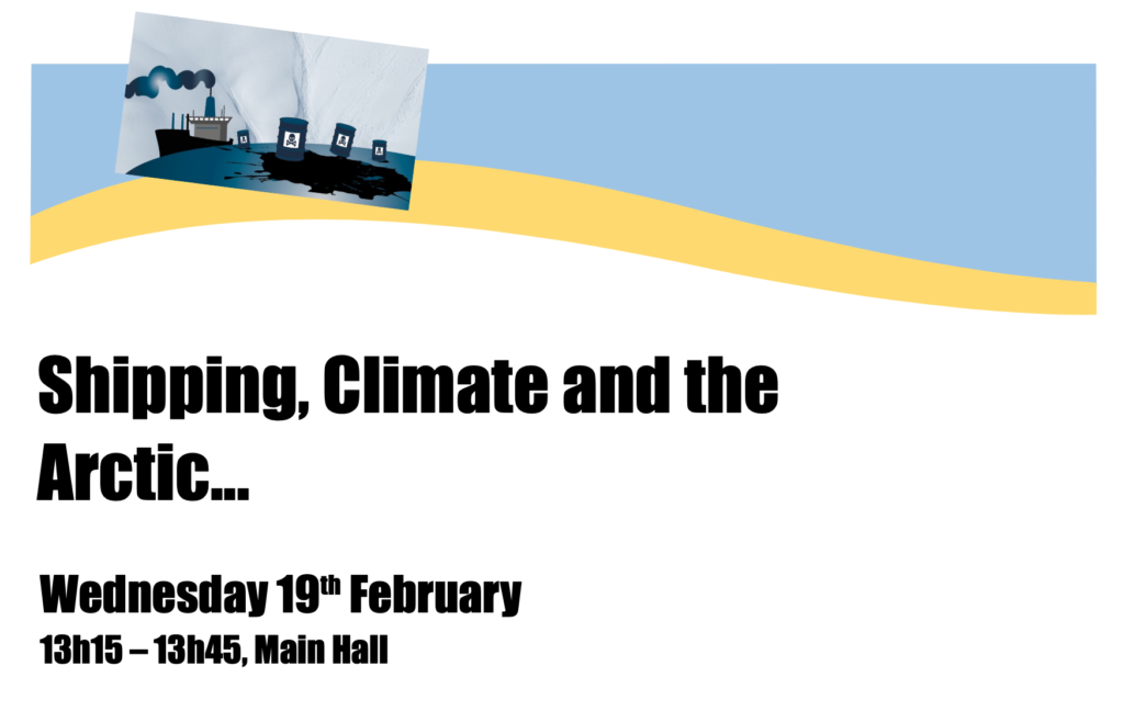 Lunchtime side event: Shipping, Climate and the Arctic